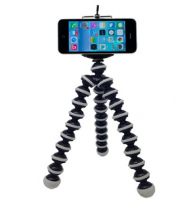 smartphone video tripod