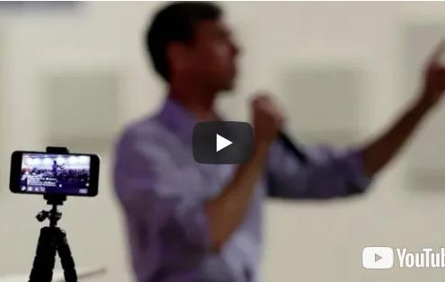 Beto O'Rourke Livestream